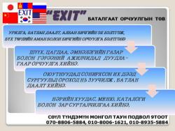 Монгол таун В109 EXIT орчуулын төв