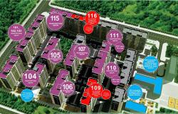 """""""СОДОН"""" стандарт цогцолбор хороолол 49,99мкв 2 өрөө байр үнэ 98,980,200 төг"""