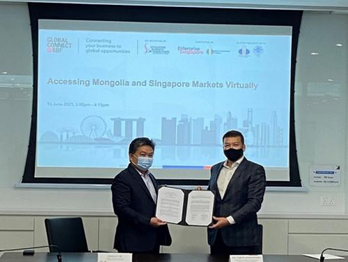 Монгол, Сингапурын бизнес эрхлэгч нарын хамтарсан ээлжит цахим уулзалт болов.
